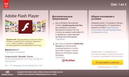 adobe shockwave flash player
